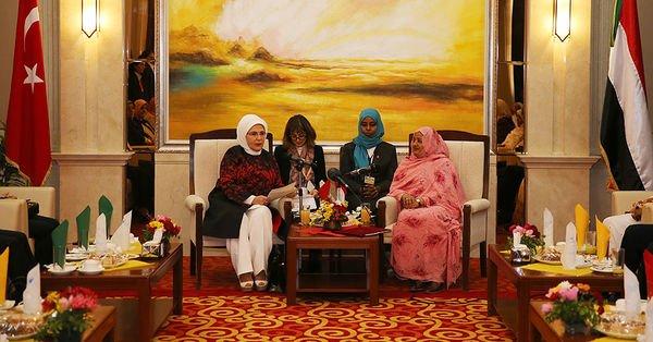 Emine Erdoğan'a Sudan'da 'Kudüs teşekkürü'