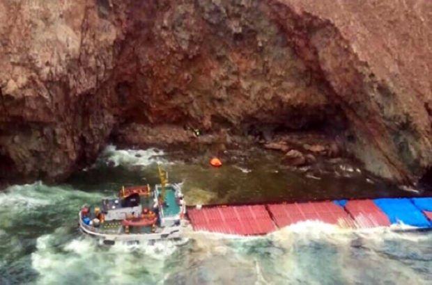 Son dakika... Mikonos adası yakınında Türk kuru yük gemisi karaya oturdu