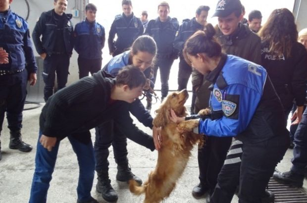 Eskişehir'de 7 engelli gencin polis olma hayali gerçek oldu