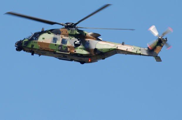 Umman'da askeri helikopter düştü: 1 ölü, 2 yaralı