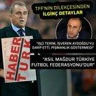 TFF, TERİM'İ SUÇLADI!