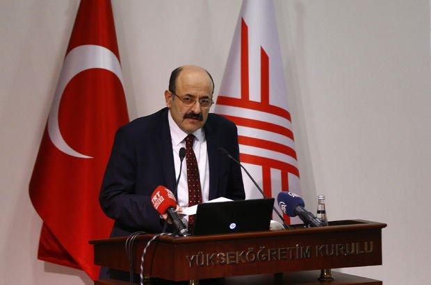 Son dakika... YÖK Başkanı Prof. Dr. Yekta Saraç'tan flaş YKS açıklaması!