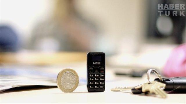 Dünyanın en küçük cep telefonu: Tiny T1