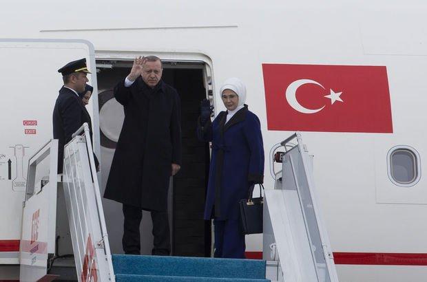 Cumhurbaşkanı Recep Tayyip Erdoğan Tunus'a geldi