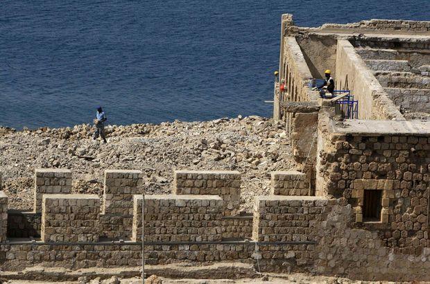 Sevakin Adası'na askeri gemiler için bakım limanı!