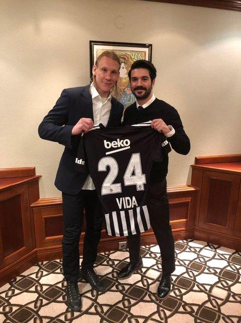Beşiktaş ile anlaşan Vida'nın Pepe heyecanı