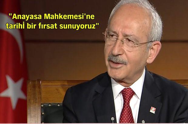 Kemal Kılıçdaroğlu, Habertürk TV'de Ece Üner'in sorularını yanıtladı