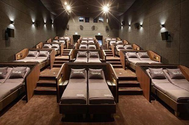 Yataklı sinema salonu açıldı! Yataklı sinemanın bilet fiyatları ne kadar?