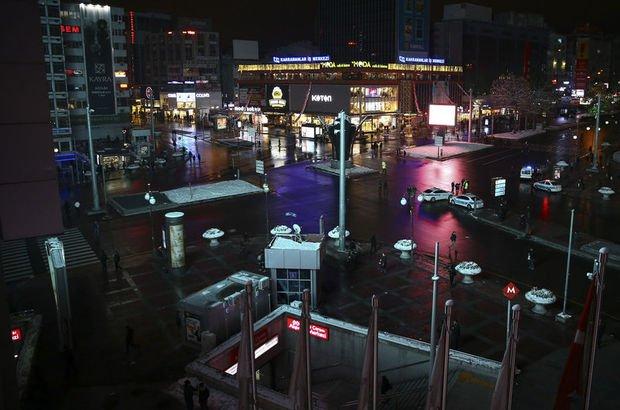 SON DAKİKA Ankara'da Kızılay Meydanı trafiğe kapatılacak! Ankara'da hangi yollar kapatılacak?