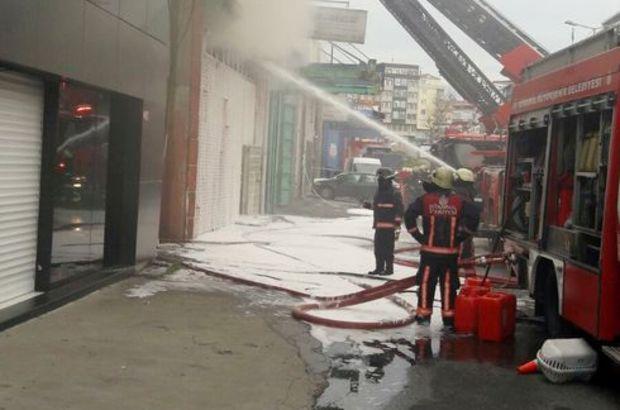 Son dakika... Zeytinburnu Demirciler Sanayi Sitesi'nde korkutan yangın