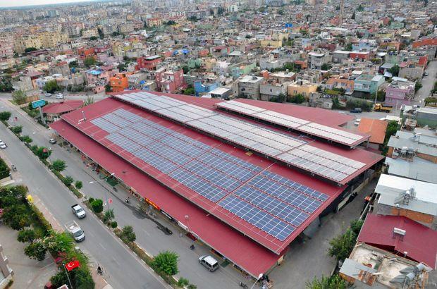 çatı güneş enerjisi