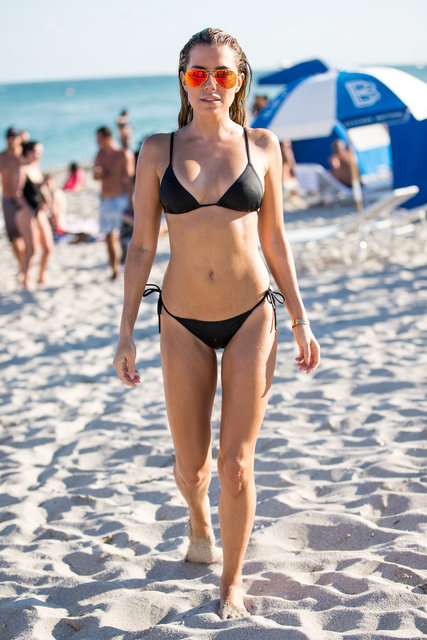 Sylvie Meis, Miami?de tatil yapıyor