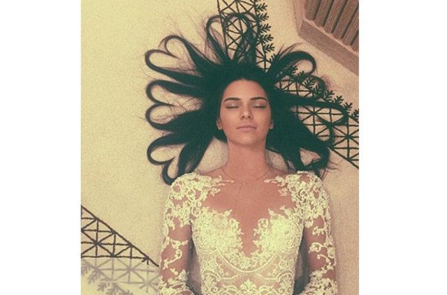 Kendall Jenner'ın paylaşımı sosyal medyayı karıştırdı: Hamile mi?