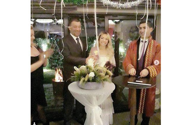 Şevket Çoruh ile Özge Turna evlendi, Şevket Çoruh evlendi, Magazin haberleri