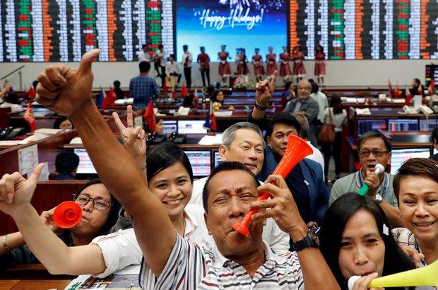Borsalar 2017 yılında rekor üzerine rekor kırdı