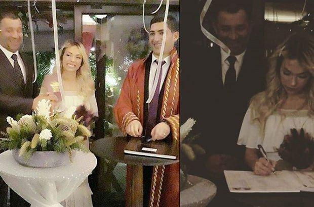 Ünlü oyuncu evlendi! Yeni yılın ilk imzası...