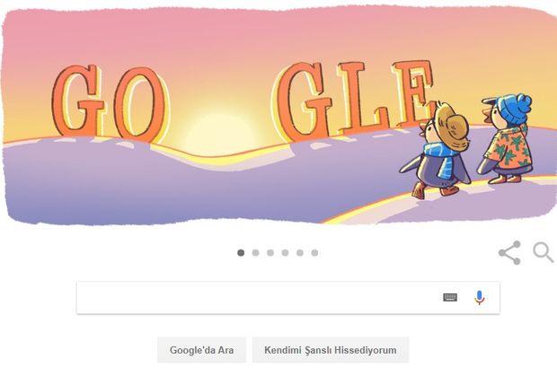 Google, yeni yılı Doodle ile karşıladı!