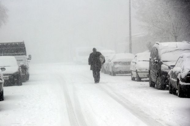 Doğu Anadolu 2018 kar yağışı Erzurum Bingöl