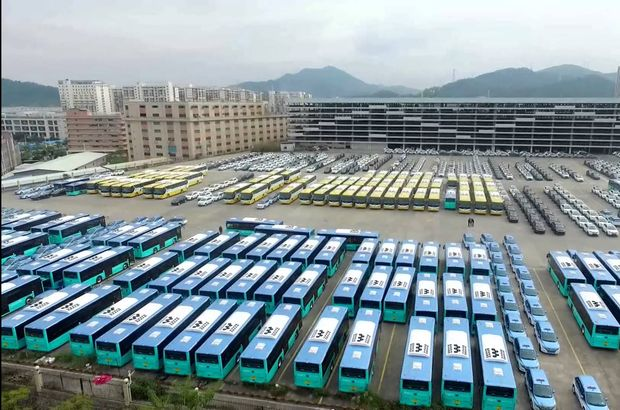 Shenzhen otobüs