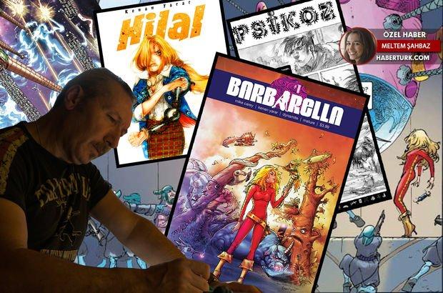Dünyaca ünlü çizgi roman Barbarella'ya Türk çizer imzası!