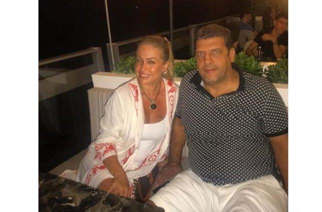 Yeliz Yeşilmen eşi Ali Uğur Akbaş'ın doğum gününü kutladı