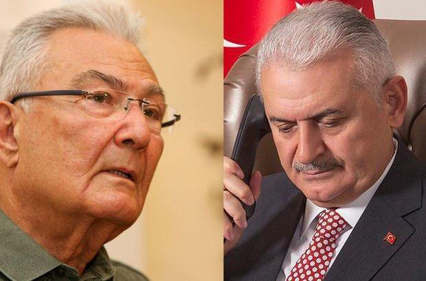 Başbakan Yıldırım'dan Deniz Baykal'a telefon