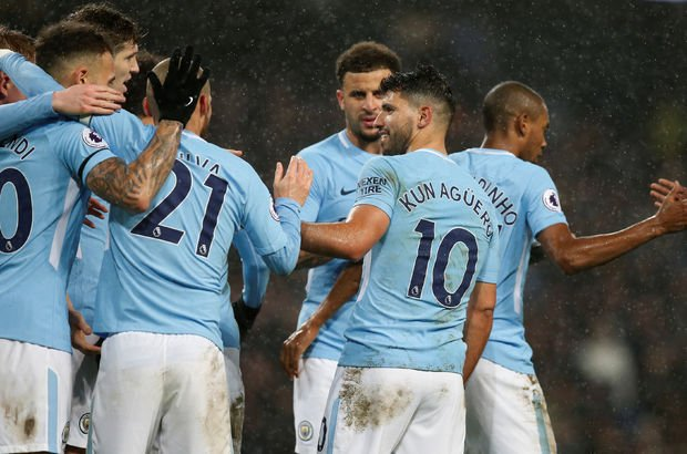Manchester City: 3 - Watford: 1