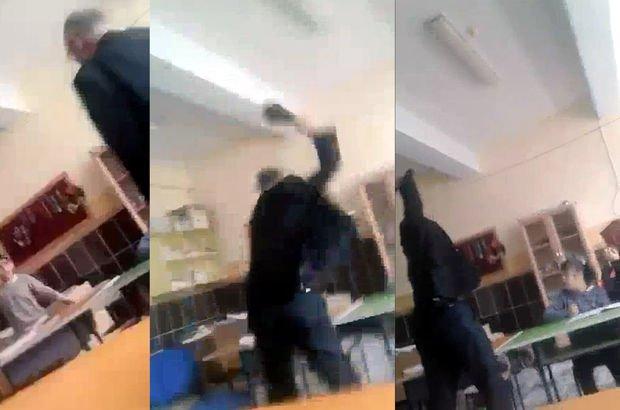 Engelli öğrenciye şiddet