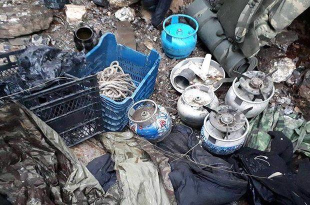 Tunceli terör operasyonu: 3 el yapımı patlayıcı ele geçirildi