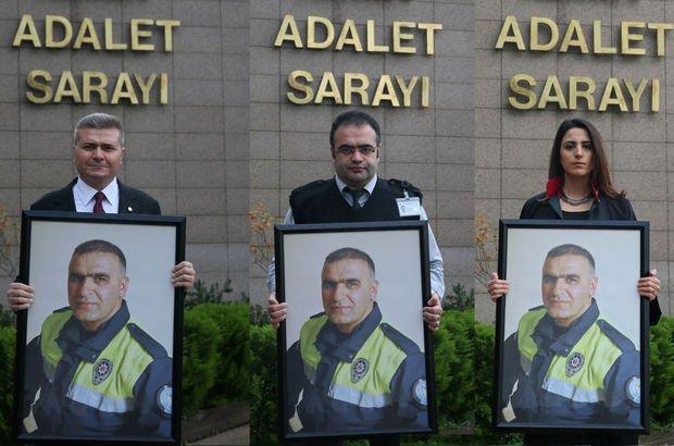 Arkadaşları kahraman polis Fethi Sekin'i andı