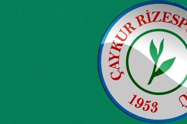 Rizespor'dan transfer açıklaması