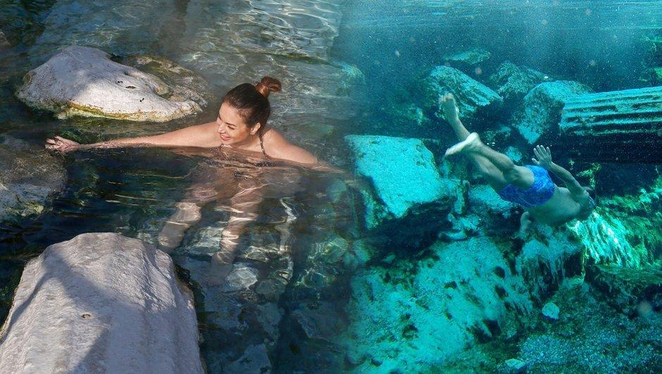 Suyu yaz kış 36 derece! İşte Türkiyenin şifa havuzu