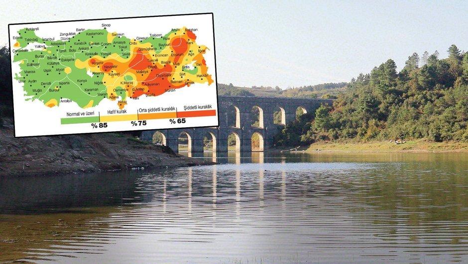 barajların doluluk oranları Kuraklık Orman ve Su İşleri Bakanlığı Veysel Eroğlu