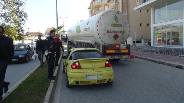 tanker aracı böyle dudurdu sevban enes ile ilgili görsel sonucu