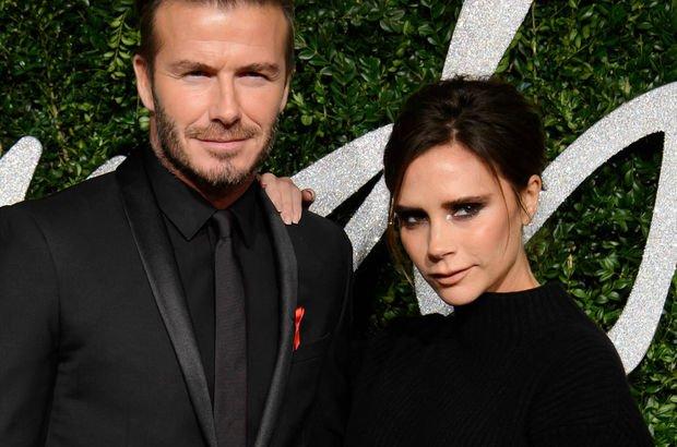 Beckham çiftinin 81 bin $'lık iç çamaşırı odası