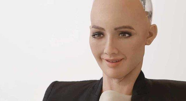 Robot Sophia, bedenine kavuştu