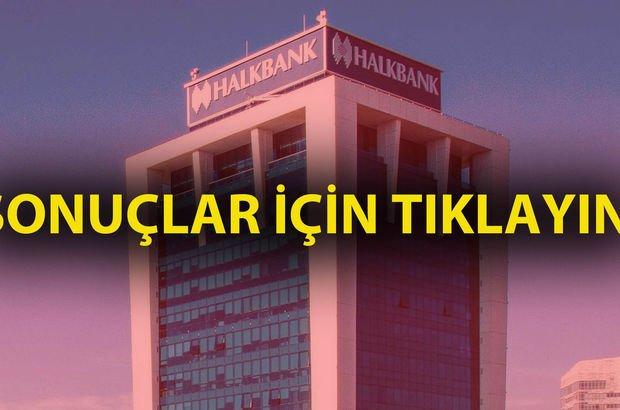 Halkbank sınav sonuçları sorgulama sayfası! Halkbank 1295 personel alımı sonuçları