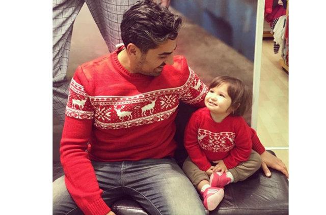 Bülent Polat bebeğiyle fotoğrafını paylaştı