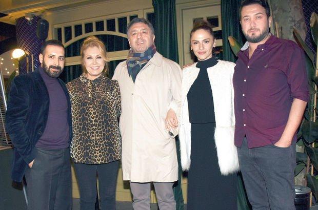Sinem Öztürk'e yapımcı eşi Mustafa Uslu'dan sürpriz yaş günü kutlaması