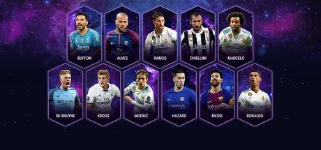 UEFA'da Yılın 11'i belli oldu!