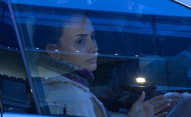 Emina Sandal'ın gözyaşları