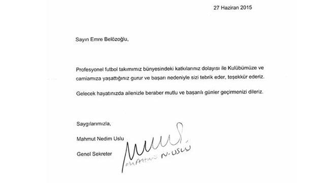 Emre Belözoğlu, Fenerbahçe'den gönderilişini unutamıyor