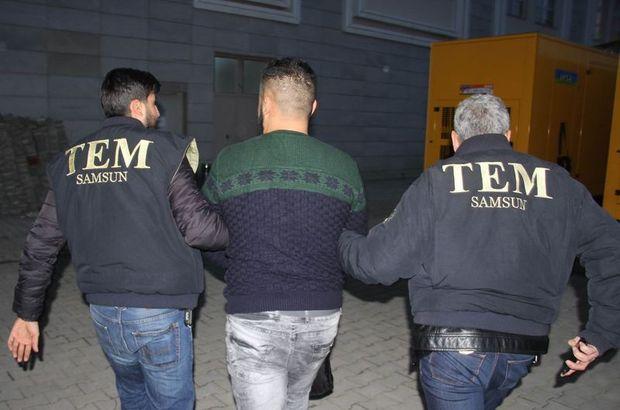Samsun terör örgütü DEAŞ'a operasyon