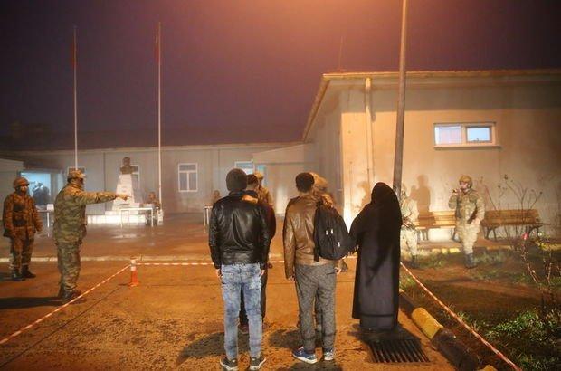 Edirne'de 95 terör şüphelisi yakalandı