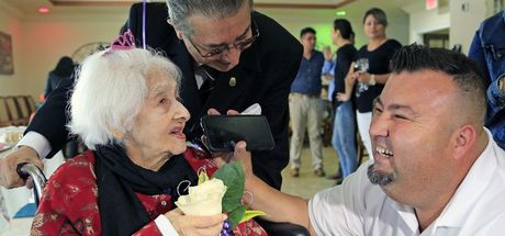 ABD'nin en yaşlı insanı 112. doğum gününü kutladı