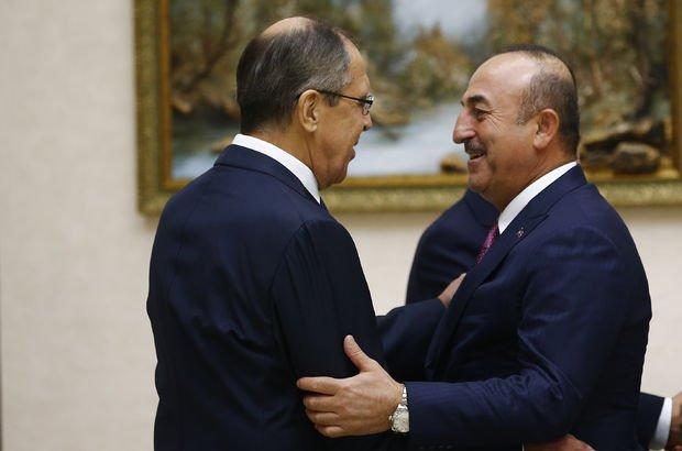 Bakan Çavuşoğlu, Rusya Dışişleri Bakanı ile görüştü!