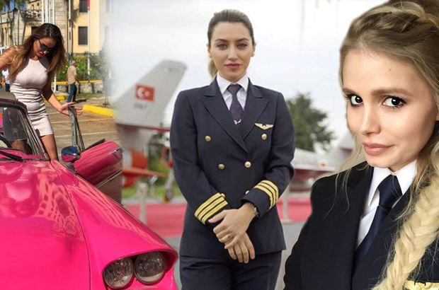 Sosyal medyanın en havalı Türk kadın pilotları...