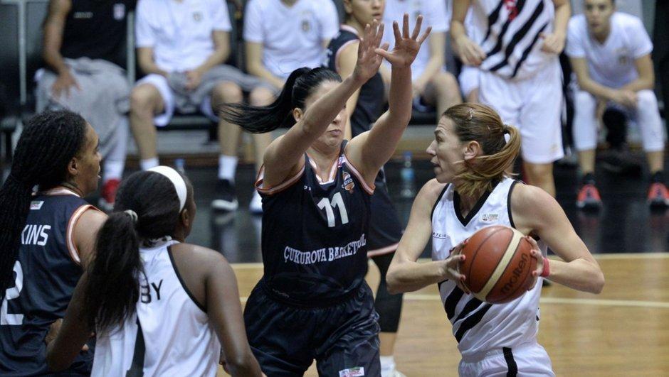 Beşiktaş: 57 - Çukurova Basketbol: 62