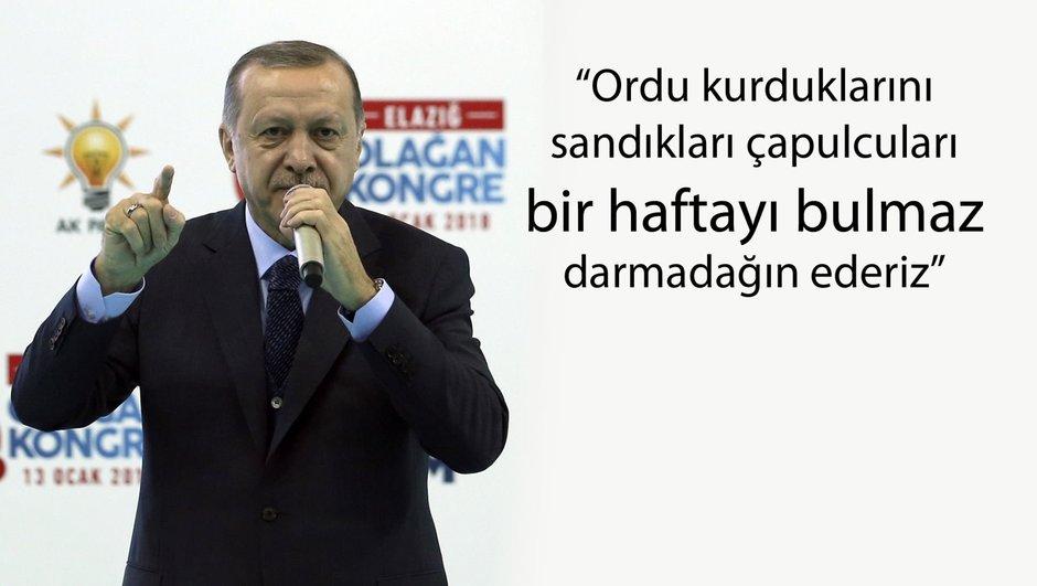 Cumhurbaşkanı Erdoğan Elazığ