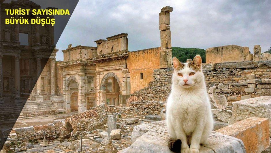 UNESCO Dünya Kültür Mirası Listesi Efes Antik Kenti turist